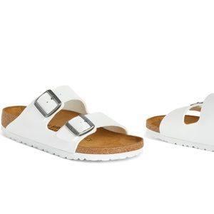 Birkenstock Arizona White Sandal!!!!